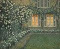 'Le Jardin Blanc au Crépuscule' by Henri Le Sidaner, 1924.jpg