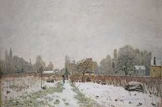 Louveciennes in the Snow
