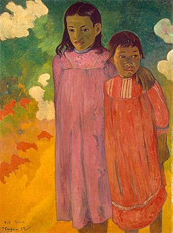 'Piti Teina (Two Sisters)' by Paul Gauguin, 1892, Hermitage.jpg