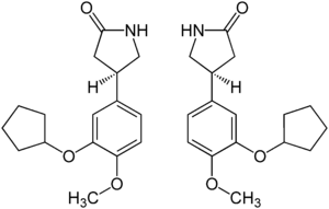 Struktur von Rolipram