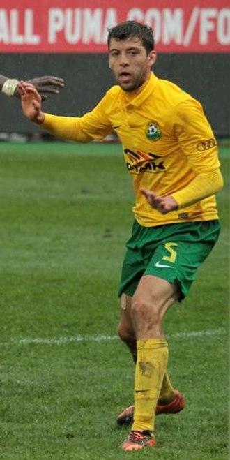 Ángel Dealbert - Dealbert playing for Kuban in 2012