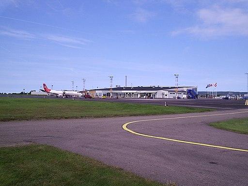 Ängelholm airport overview 2