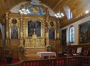 Notre-Dame-des-Anges, Quebec - Image: Église Notre Dame des Anges
