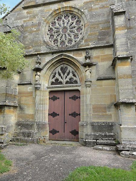 Église Saint-Médard de Rancourt-sur-Ornain, portail