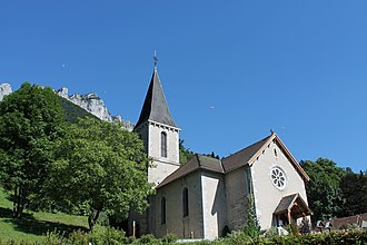 Bluffy - The  church of Saint-Pierre and Saint-Paul, in Bluffy