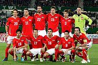 Österreichische Fußballnationalmannschaft 2010-10-08 (01)