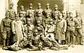 Častniki, podčastniki in šarži 2. stotnije XXV. pohodnega bataljona 17. pešpolka v Judenburgu na Koroškem oktobra 1916 pred odhodom na južnotirolsko fronto.jpg