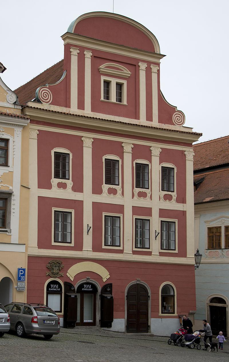 Český Krumlov, náměstí Svornosti 16.jpg