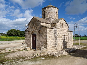 Frenaros - Church of Agios Andronikos