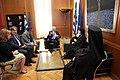 Συνάντηση με τον Οικουμενικό Πατριάρχη κ.κ. Βαρθολομαίο (5877110370).jpg