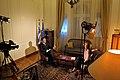 """Συνέντευξη ΥΠΕΞ Δ. Δρούτσα σε αιγυπτιακό κανάλι «Nile TV» (12.04.2011) - Interview of Foreign Minister D. Droutsas on """"Nile TV"""" (12.04.2011) (5615805590).jpg"""