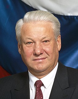 Boris Yeltsin First President of Russia from 1991 to 1999