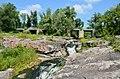 Вир (водоспад), Маньківський район, біля мосту на шляху Буки-Київ.jpg