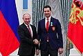 Владимир Путин вручил Роману Ротенбергу Орден Дружбы.jpg