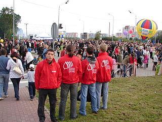 Hilfstrupp der Jugendorganisation