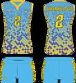 Игровая форма женской волейбольной команды Алтай-голубой.png