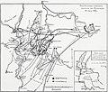 Карта-схема к статье «Кустоцца» (1866). Военная энциклопедия Сытина (Санкт-Петербург, 1911-1915).jpg