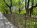 Кронштадт. Екатерининский парк, ограда04.jpg
