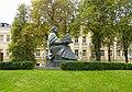 Пам'ятник Ярославу Мудрому Київ Золотоворітський сквер.jpg