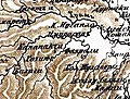 Село Фахралы на пяти верстной карте Кавказского края 1869-ого года.jpg