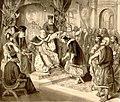 Стефан Немања предаје са благословом владу србску сину свом Стефану Првовенчаном.jpg