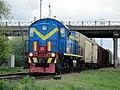 ТЭМ2-5846, Казахстан, Западно-Казахстанская область, станция Уральск (Trainpix 149688).jpg