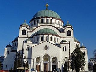 Church of Saint Sava Church in Belgrade, Serbia