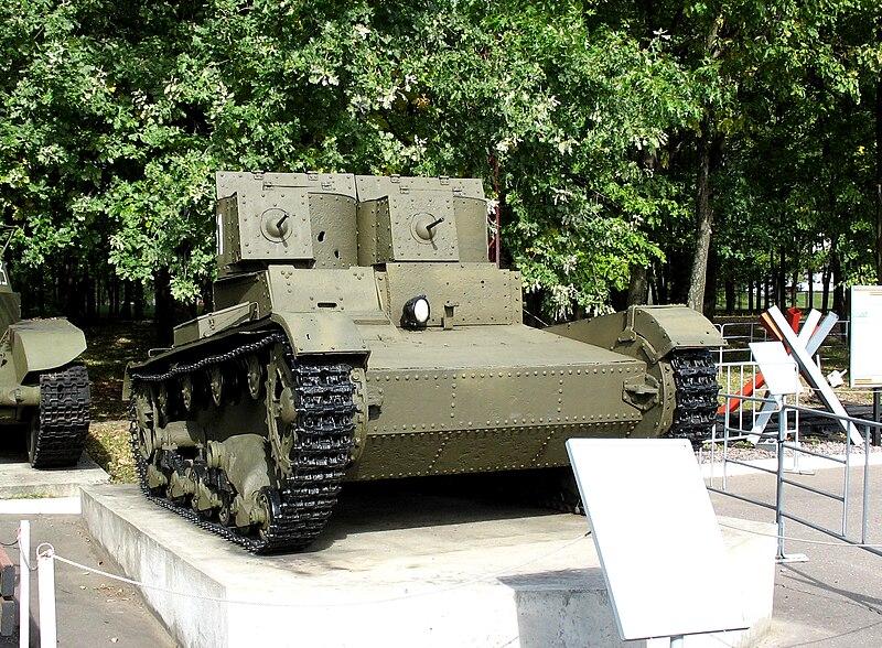 Файл:ЦМ ВОВ. Танк Т-26 (СССР).jpg