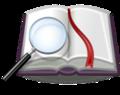 מילון עם זכוכית מגדלת.png