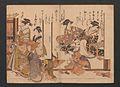 「吉原傾城」新美人合自筆鏡-Yoshiwara Courtesans- A New Mirror Comparing the Calligraphy of Beauties (Yoshiwara keisei- Shin bijin awase jihitsu kagami) MET JIB91 004.jpg
