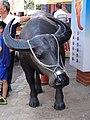 三峽老街 水牛雕塑 20160716.jpg