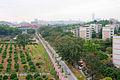 华南农业大学,扩宽后的凤阳路 - panoramio.jpg