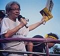 參加2012反媒體壟斷大遊行的臺灣作家,媒體人,藝術家馮光遠 Taiwanese writer, journalist, and artist Feng Guang Yuan.jpg