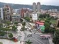 天母東路與天母西路與中山北路七段交叉路口Tianmu East Road and Tianmu West Road and Zhongshan North Road, seven-segment intersection - panoramio.jpg