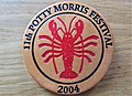 -2019-07-01 Event badge issued at the 2004 Potty Morris dancing festival, Sheringham.JPG