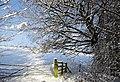 -2021-01-09 Snow covered field gateway, Lanchester Valley Railway Path.jpg