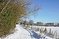 -2021-01-25 Snow on footpath, Colton Hills near Penn, Wolverhampton.jpg