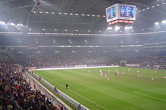 You Are the One (Argentine TV series) - The Veltins-Arena stadium. An episode featured location shooting during the Argentina-Serbia and Montenegro match of the 2006 FIFA World Cup.