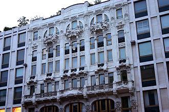 Villas and palaces in Milan - The Hotel Corso (ex Trianon).