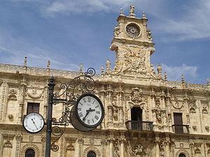 León, Spain - ''Hostal de San Marcos''