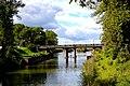 092. Шлиссельбург. Мост на колоннах через Староладожский канал.JPG