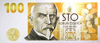 Czech koruna - Image: 100 CZK obverse 2019