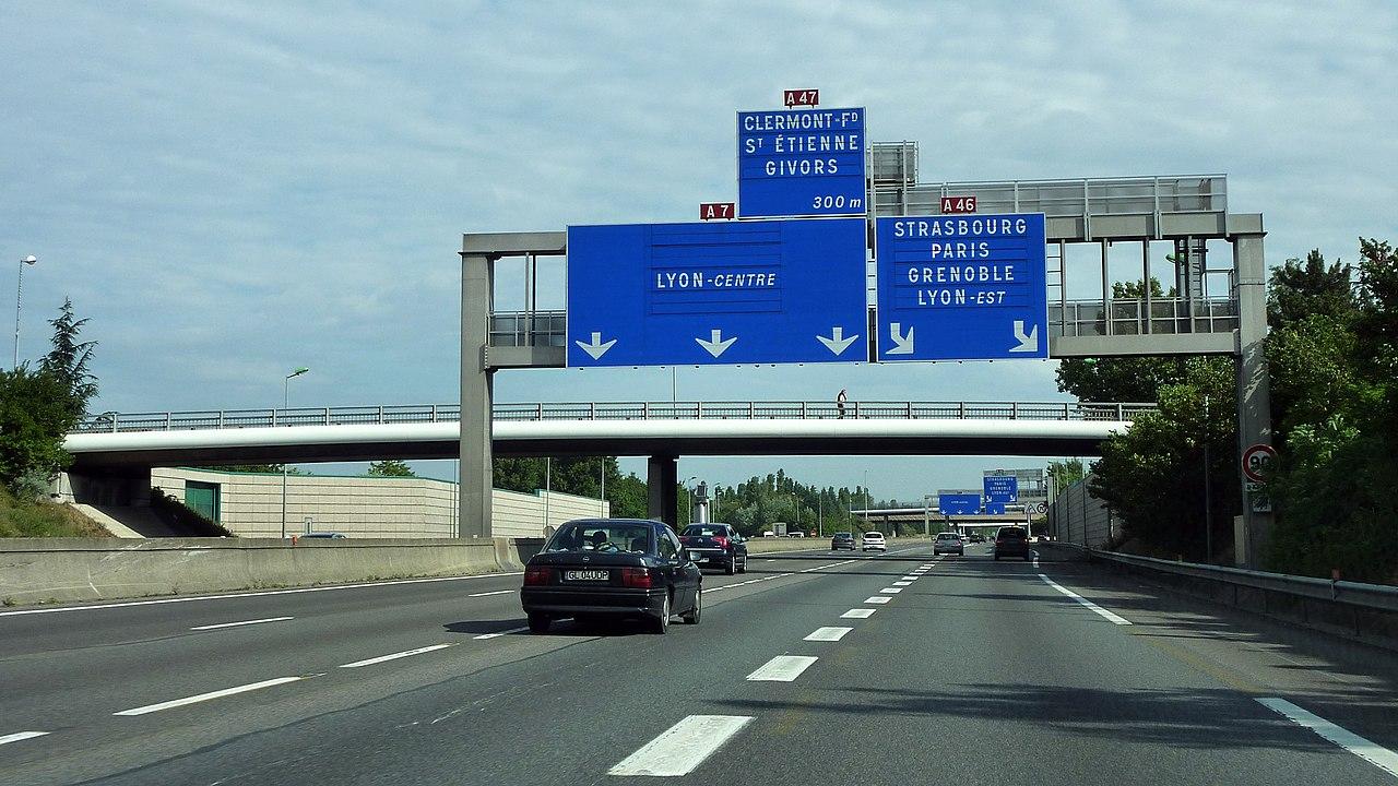 Fabuleux A7 autoroute - Wikiwand FU68