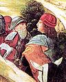 13 Juan Fernandez de Heredia et Raymond de Turenne (fresque de l'Ospedale Santa-Maria della Scala à Sienne) XV.jpg