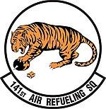 141st Air Refueling Squadron emblem
