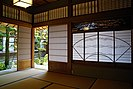 Shōji with artistic frames