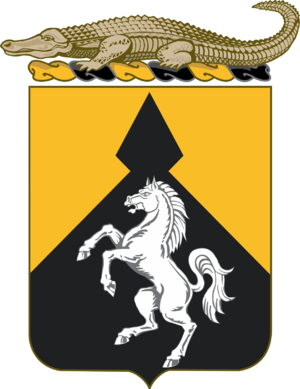 Troop B, 1-153 Cavalry - 153rd Cavalry coat of arms
