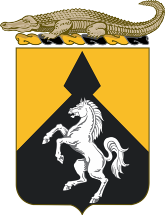 153rd Cavalry Regiment - Coat of arms