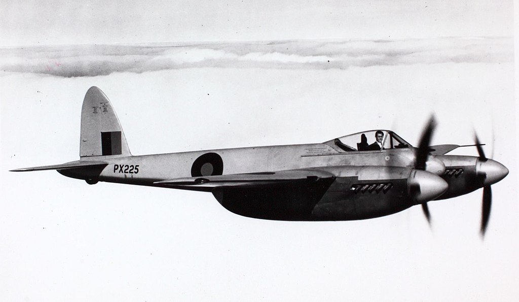 File 15 Dehavilland D H  103 Hornet Rr Merlin 130