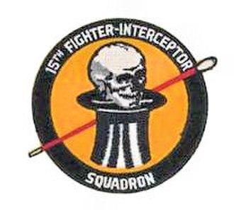 15th Test Squadron - Image: 15th Fighter Interceptor Squadron Emblem